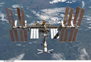 ISS in orbit [photo courtesy NASA]