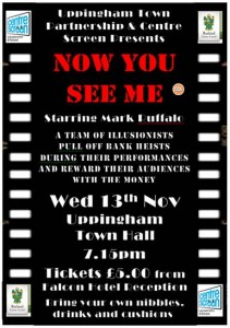 Now You See Me - Film Night Out Poster