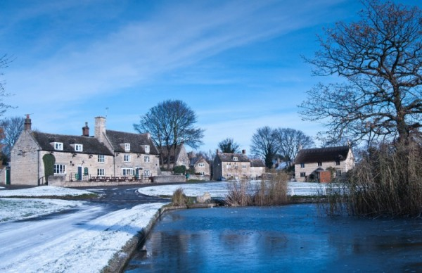 "This photo was taken by Sonia Kendal for the January entry in the ""Around Our Village"" 2014 Calendar produced by the North Luffenham Camera Club."