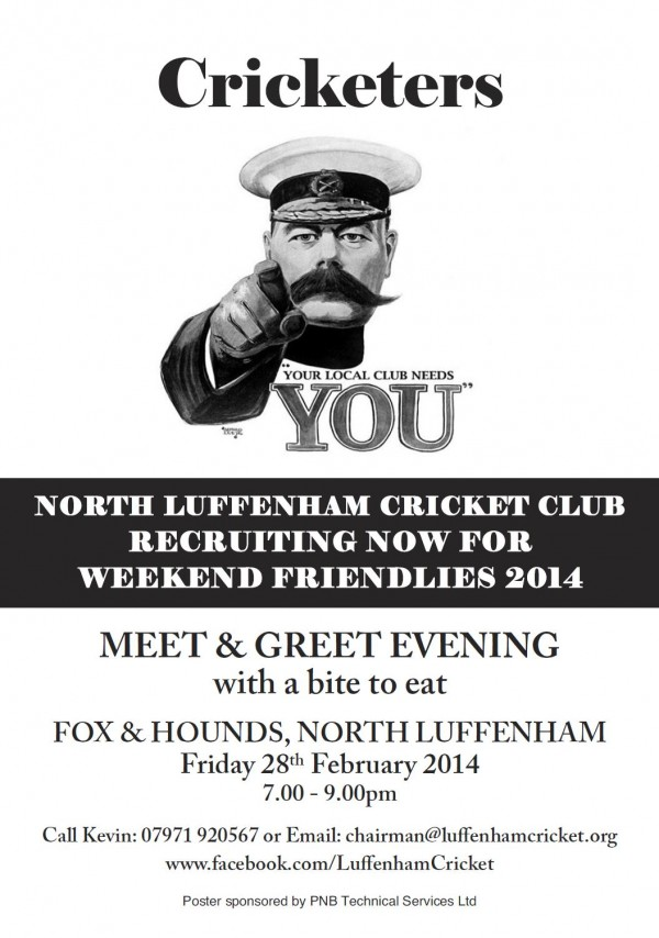 your local cricket club needs you