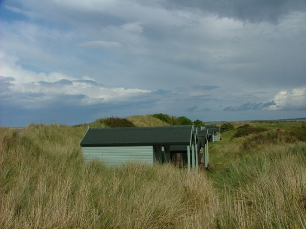 Brancaster beach huts