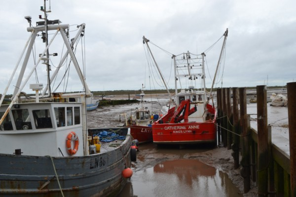 Brancaster fishing boats