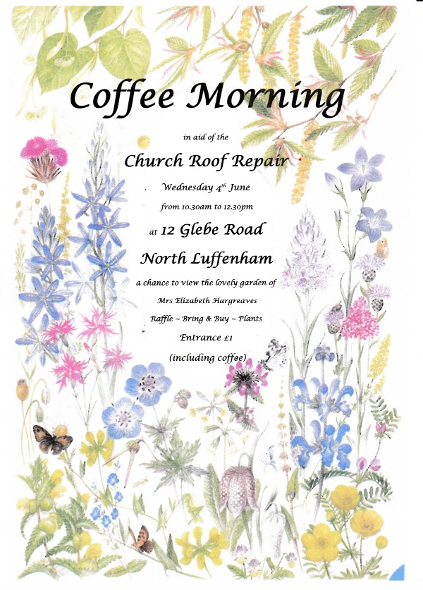 Coffee Morning Elizabeth Hargreaves Garden