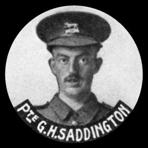 24954 Private George Henry Saddington